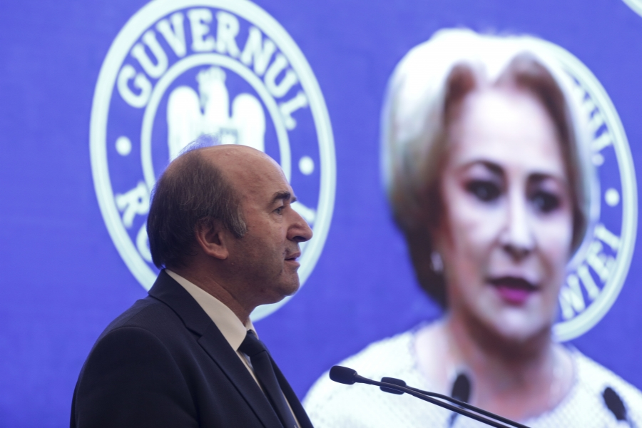 Tudorel Toader - Viorica Dancila - Foto Inquam Photos / Octav Ganea