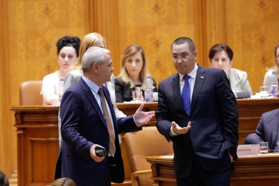 Dragnea - Ponta, în Parlament