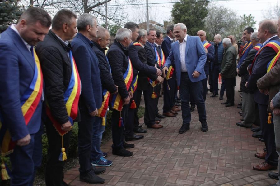 Liviu Dragnea și primarii PSD