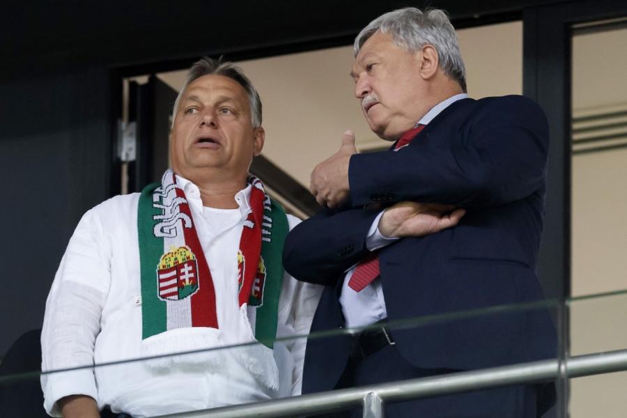 Viktor Orban, fotbal