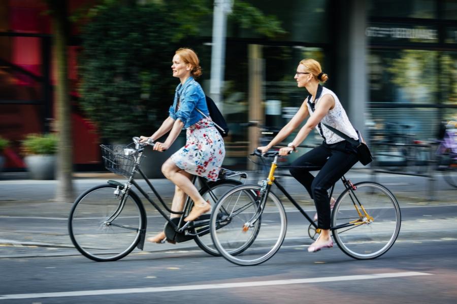 Biciclete în oraș