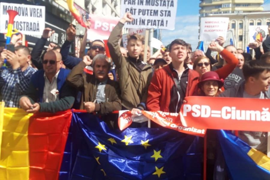 Miting PSD Iași