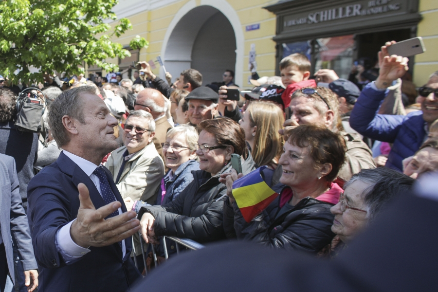Donald Tusk - Foto Inquam Photos / Octav Ganea