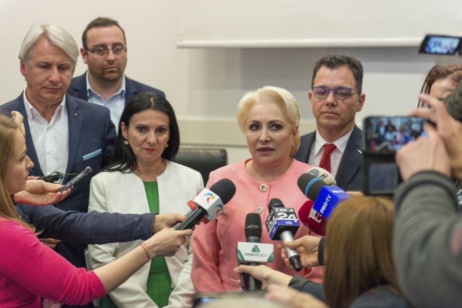 Viorica Dăncilă la Cluj