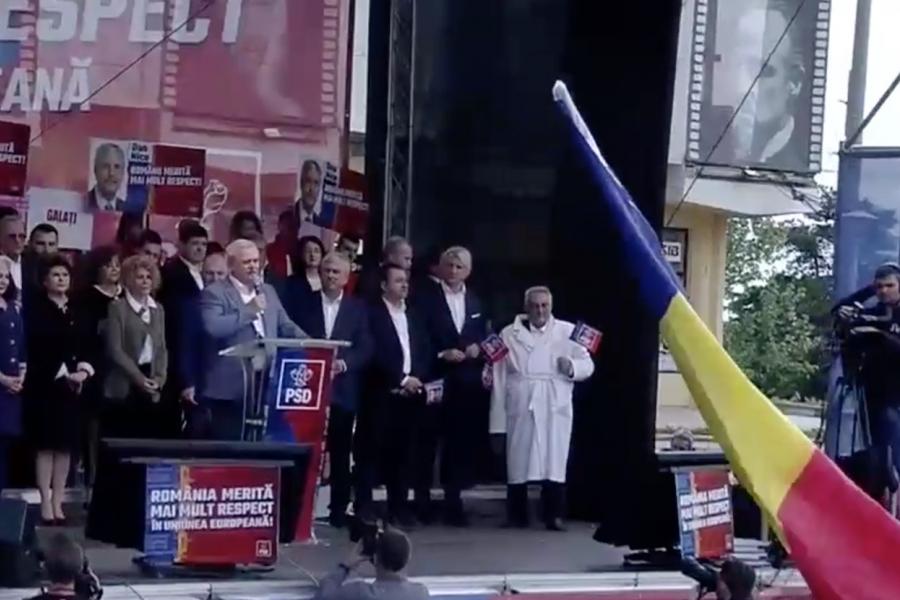 Miting PSD Galați