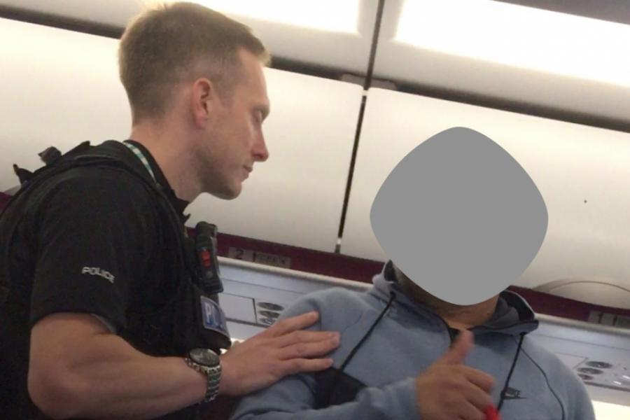 Incident în avion
