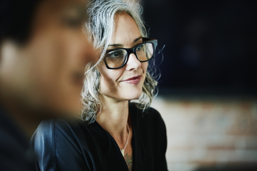 femeie la 45 ani - Getty