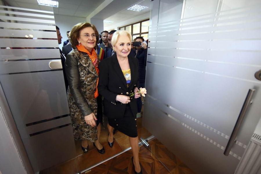 Viorica Dăncilă și Maria Grapini