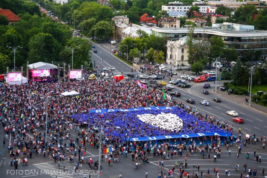 Toti pentru Europa - Foto Dan Mihai Balanescu