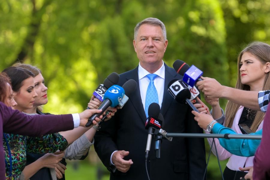 Klaus Iohannis - Foto presidency.ro