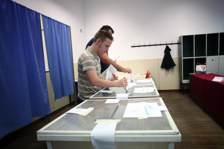 vot europarlamentare - Foto: Inquam Photos / Virgil Simonescu