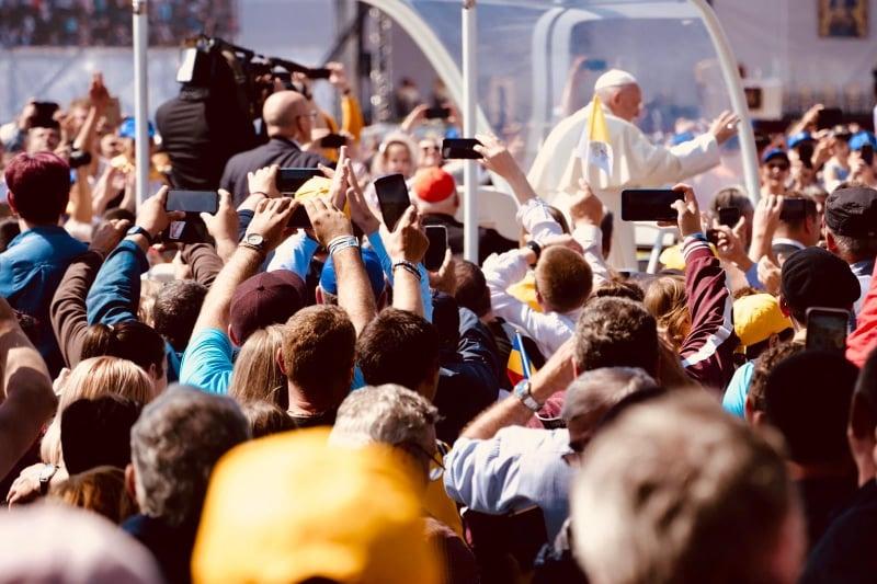 Papa Francisc la Blaj