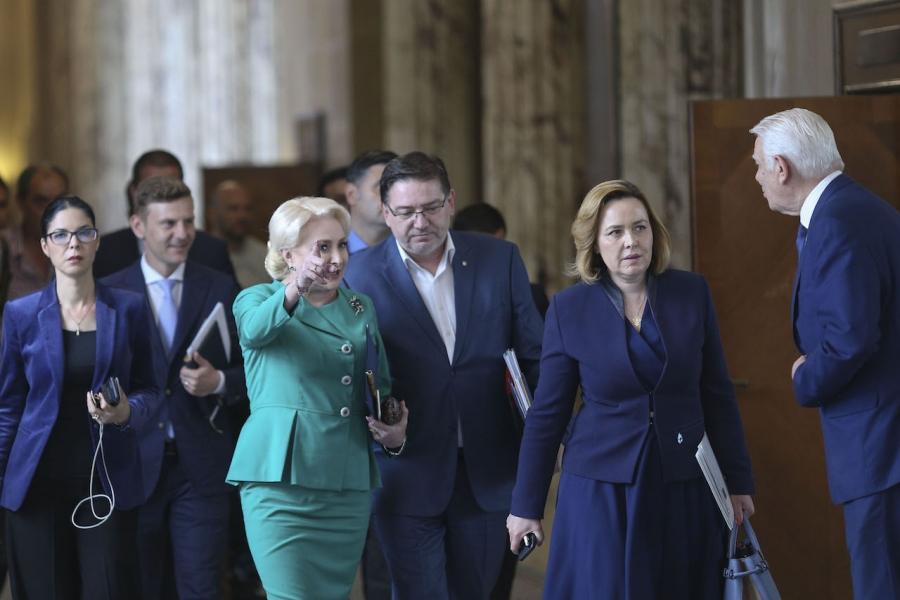 Dăncilă, Meleșanu, ședință de Guvern