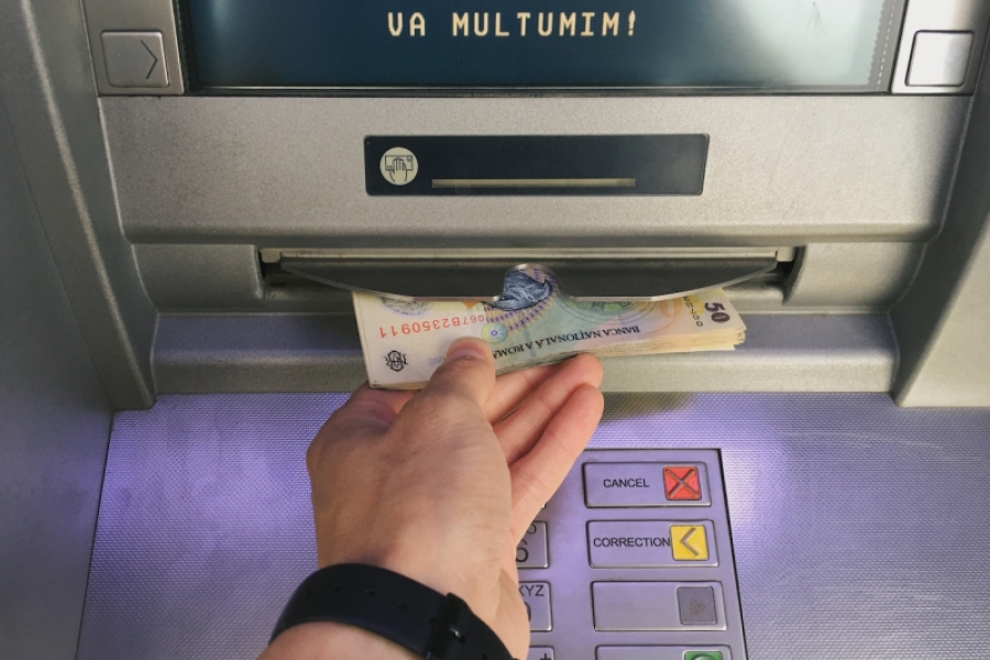 ATM extragere