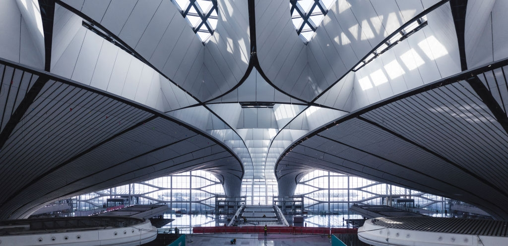 Cel mai mare aeroport din lume - Beijing
