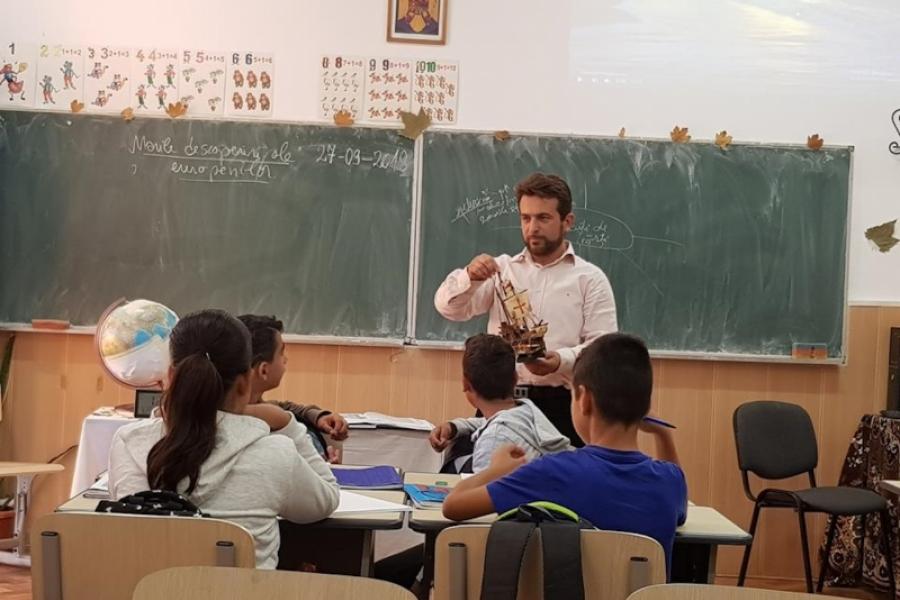 Director Școala din Jilava