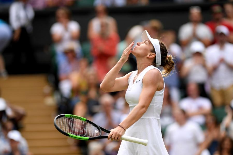Simona Halep la Wimbledon în finală