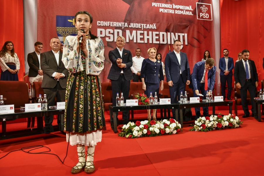 Viorica Dancila - PSD - Foto Inquam Photos / Justinel Stavaru
