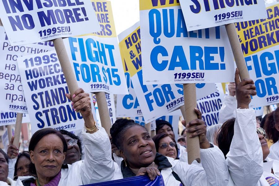 Proteste salariul minim SUA