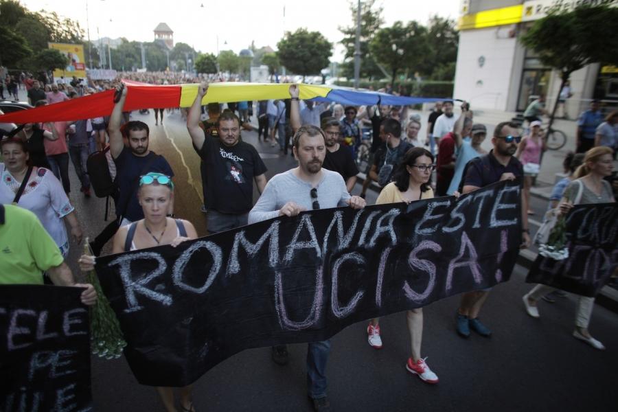 România moare