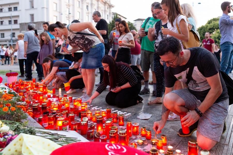 Protest Alexandra Măceșanu