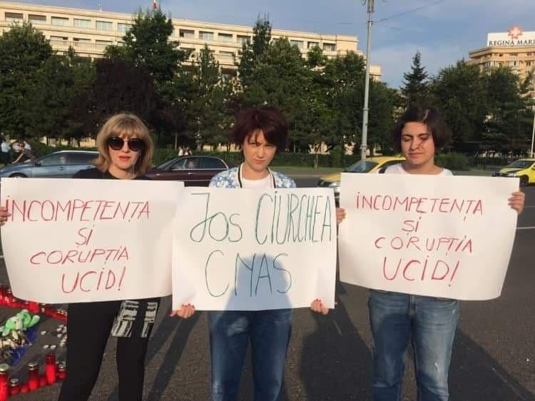 protest Alexandra - Luiza