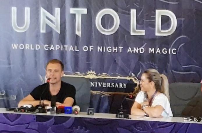 Armin - conferință de presă