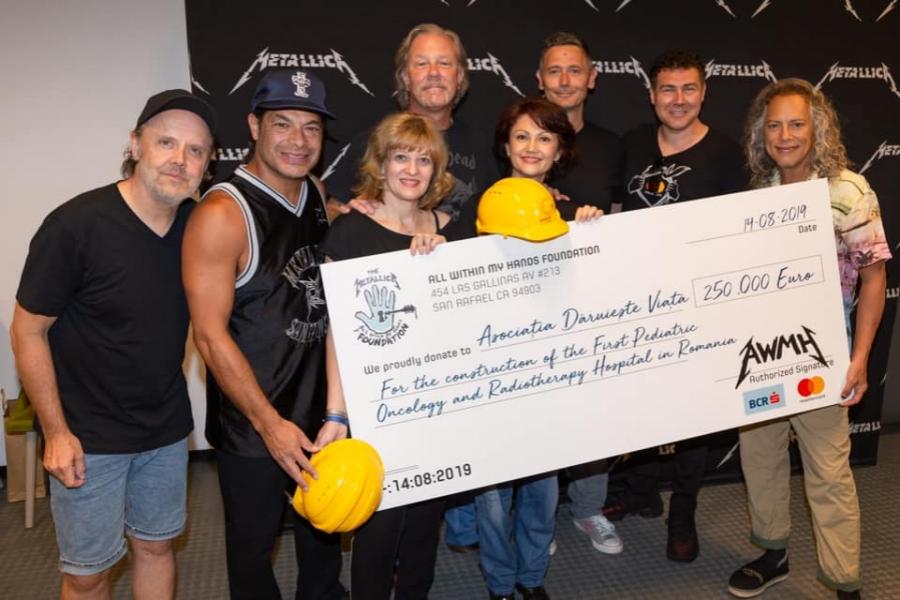 Donație Metallica