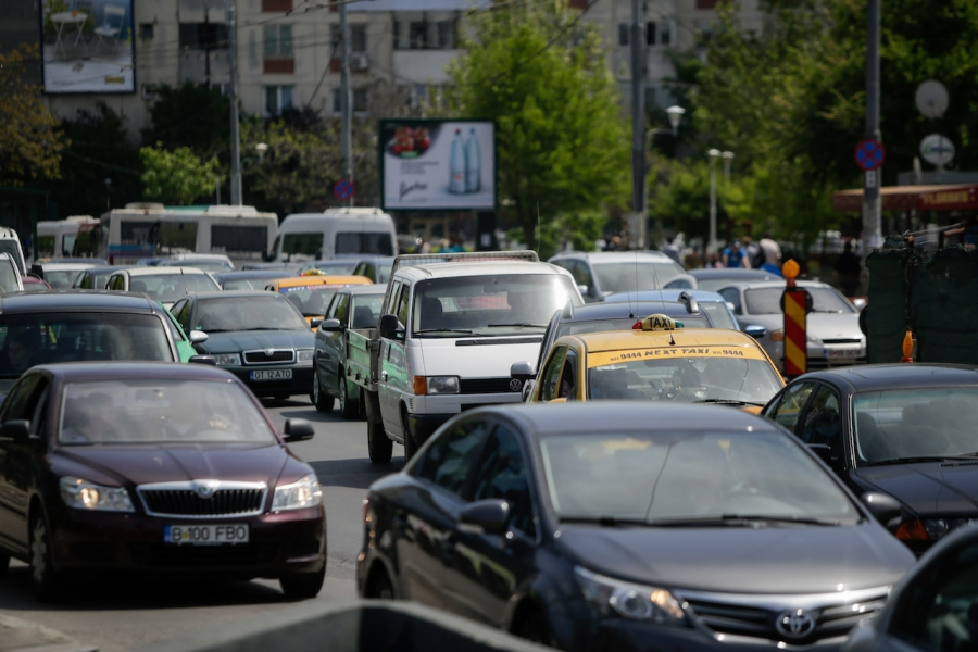 Șoferii din București
