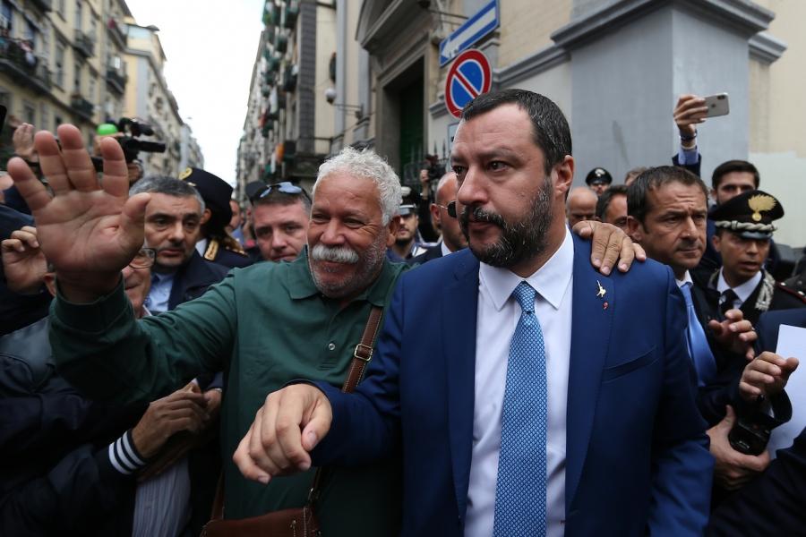 Matteo Salvini, Italia