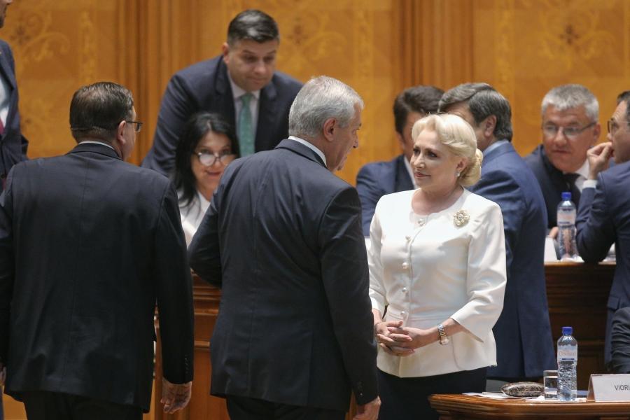 Viorica Dăncilă și C.P. Tăriceanu