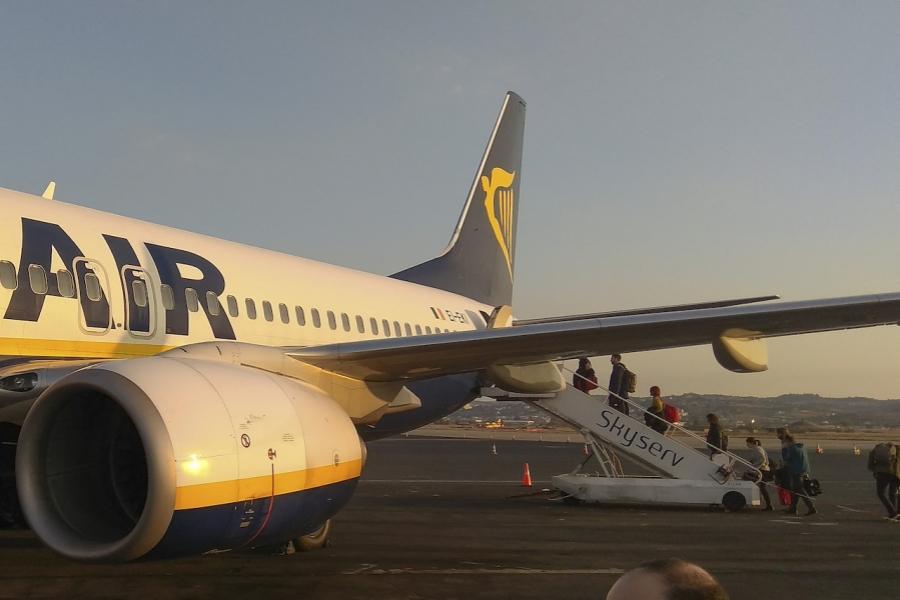 Plecare Otopeni Ryanair