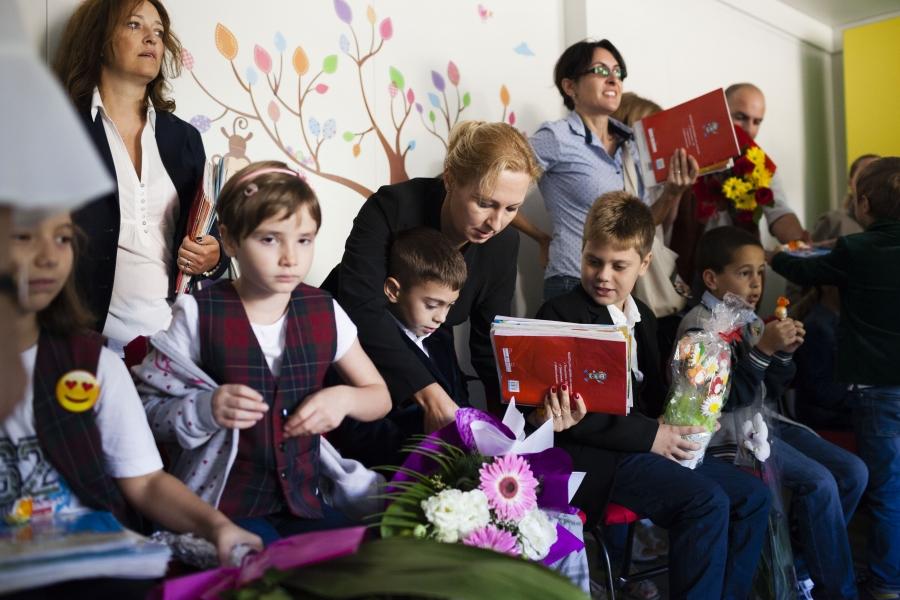 scoala - copii -  Foto  Inquam Photos / Cornel Putan