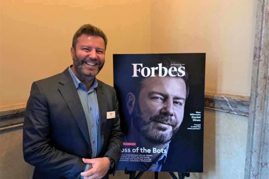 Daniel Dines, Forbes