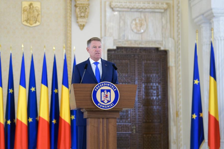 Klaus Iohannis, declarație de presă