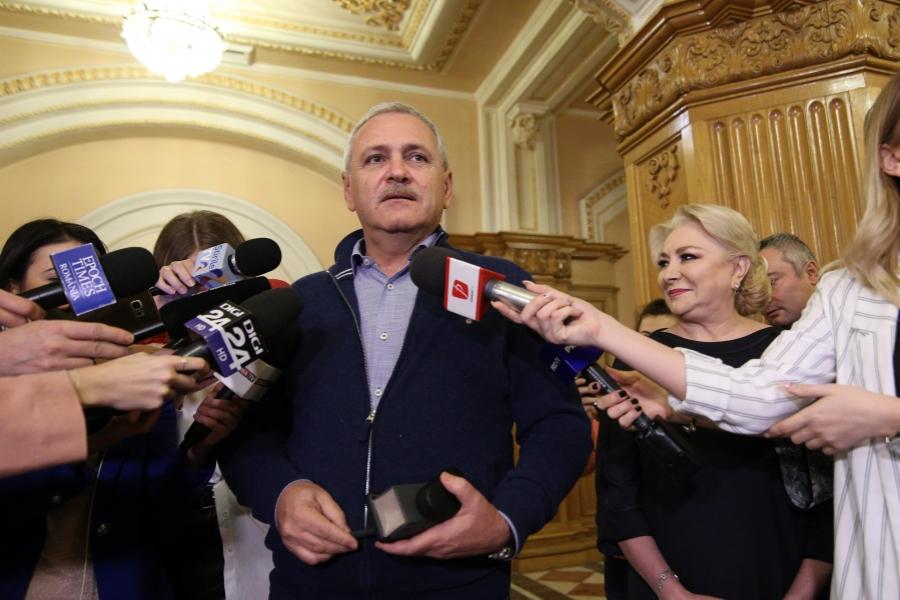 Viorica Dăncilă - Liviu Dragnea - Foto Inquam Photos / George Călin