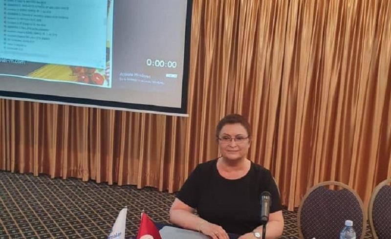 Ruxandra Ulmeanu -  Foto: Facebook/Societatea Romana de Pneumologie