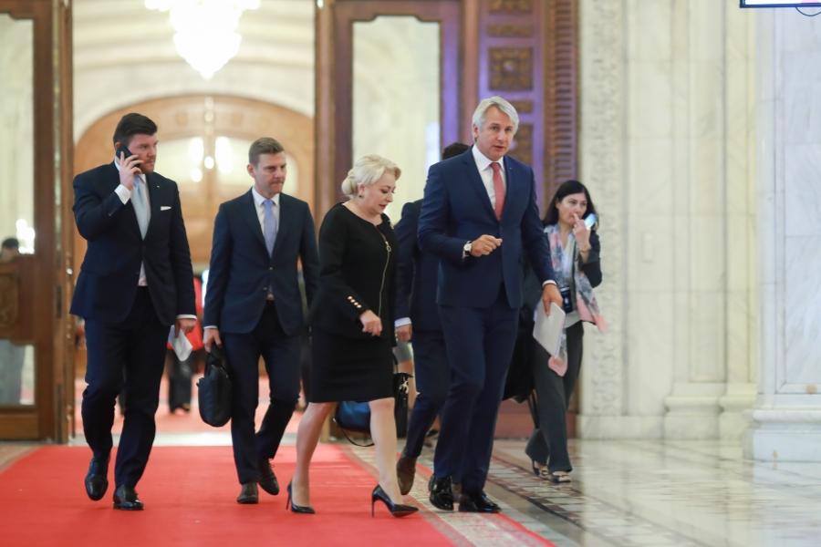 Viorica Dăncilă - Eugen Tedorovici - Parlament