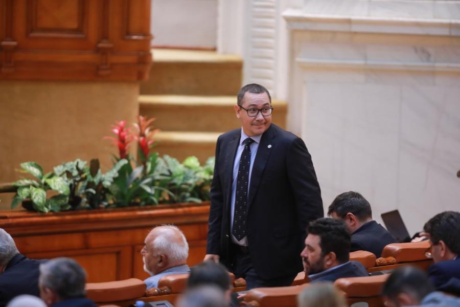 V. Ponta, moțiune