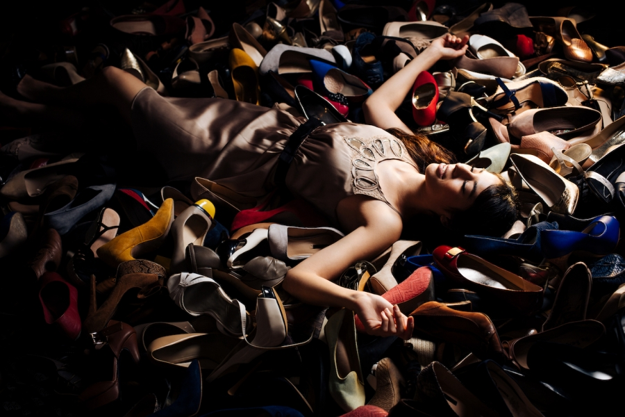 Femeie pantofi