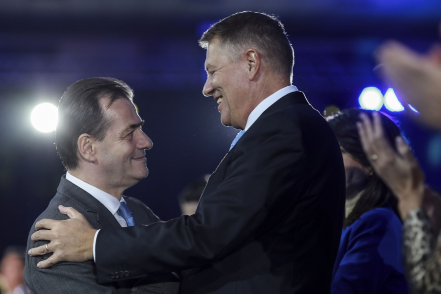 Ludovic Orban - Klaus Iohannis -  (Foto Inquam Photos / George Călin)