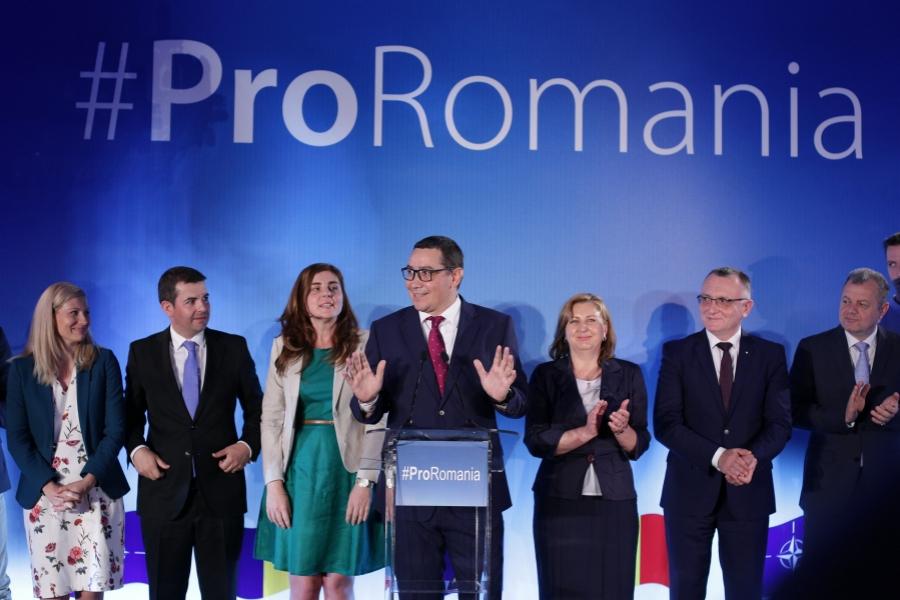 Pro Romania - Victor Ponta - Daniel Constantin