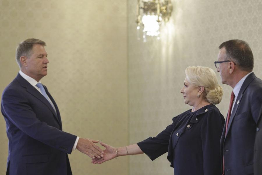 Iohannis, Dăncilă, dezbatere