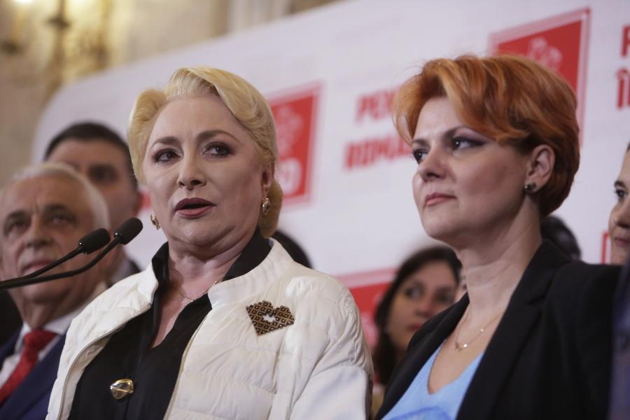 Viorica Dăncilă și Olguța Vasilescu