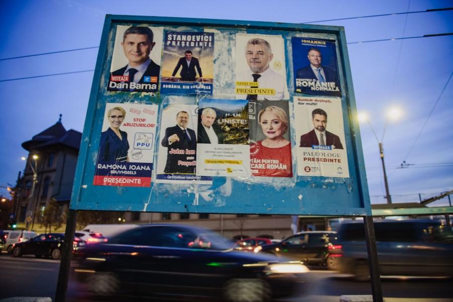 Afișe electorale prezidențiale 2019
