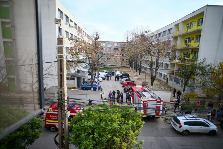 Bloc evacuat în Timișoara - 18 noiembrie