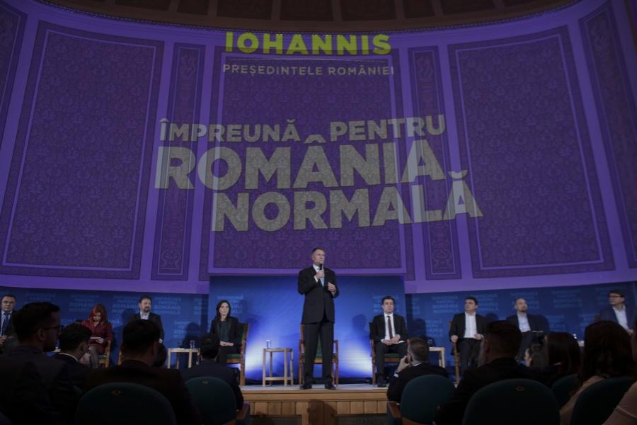 Dezbatere Iohannis