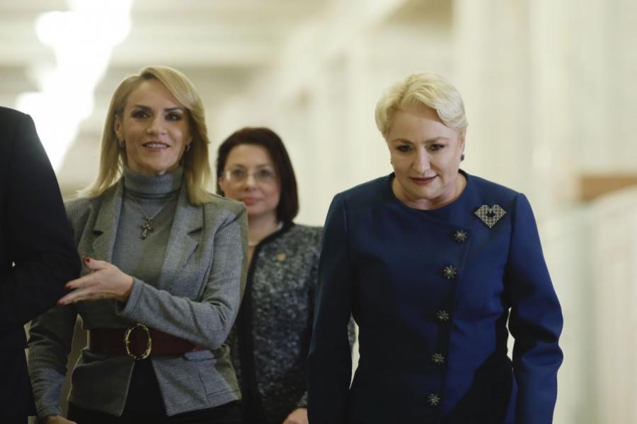 Dăncilă - Firea - dezbatere PSD