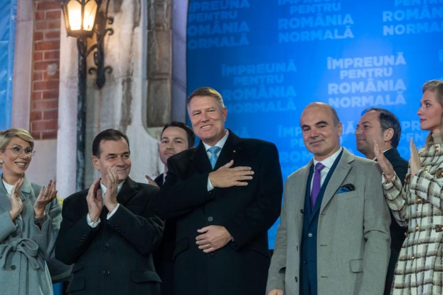 Klaus Iohannis - 24 noiembrie
