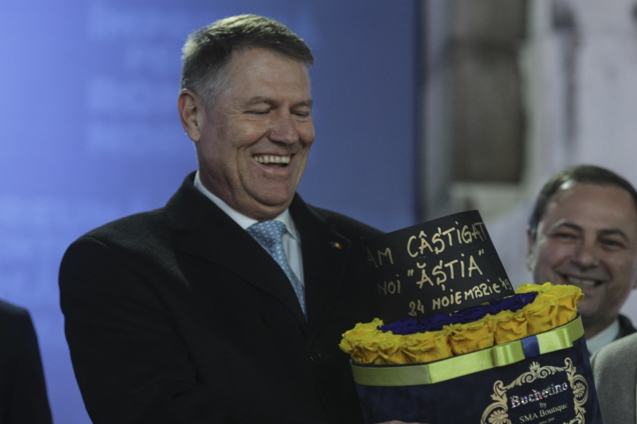 Klaus Iohannis 24 noiembrie